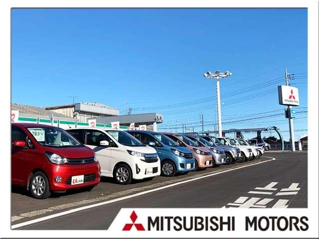 群馬三菱自動車販売(株) クリーンカー中央写真