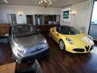 イタリア本国仕様のアルファ、フィアット、ランチア、アバルト等を輸入販売してます。