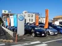 フォルクスワーゲンジャパン販売株式会社の足立支店認定中古車センターでございます。