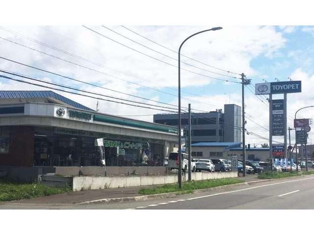 旭川トヨペット(株) 稚内店の店舗画像