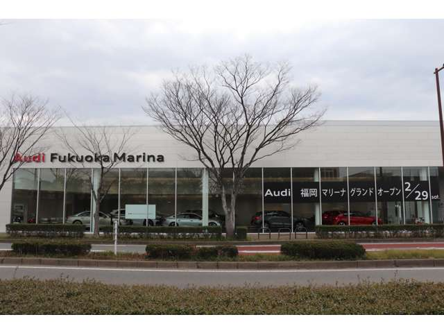 Audi Approved Automobile福岡マリーナは、Audi認定中古車の在庫保有台数県下No.1を誇ります。