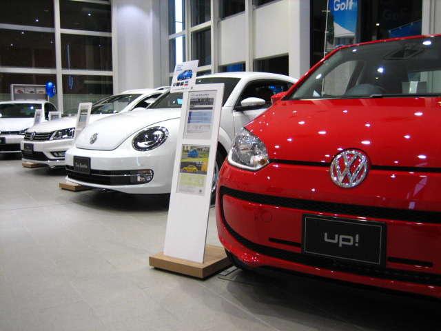 上尾自動車工業(株) Volkswagen上尾 認定中古車コーナー紹介画像