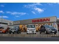 県北の日産U-CAR拠点!4WD車も豊富に展示しております!