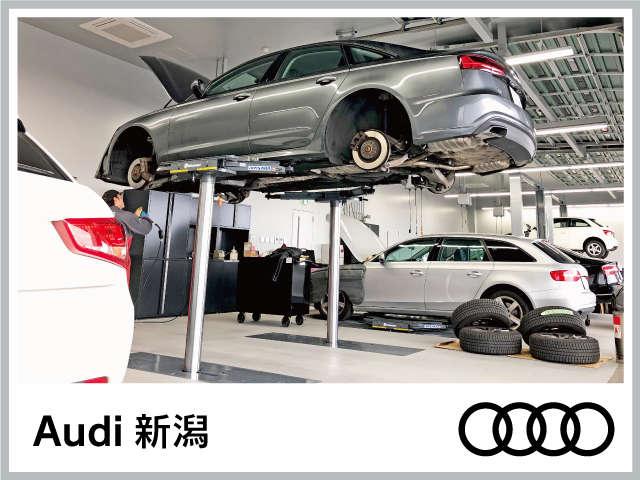 高度な訓練、教育を受けたAudi専任メカニックが100項目にもおよぶ精密な点検を実施。購入後の車検や整備もお任せ下さい。