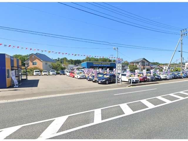 (有)パキザ商事 中古車センターカスワ追分店の店舗画像