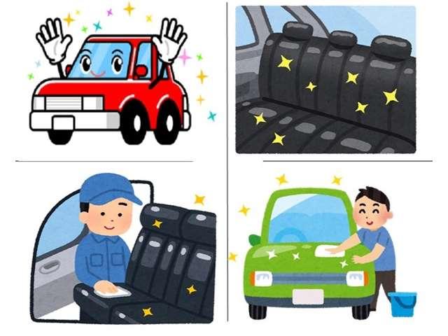 納車時には外装の磨き直し!内装洗浄を徹底しております!ピカピカの状態にてご納車させて頂きます!