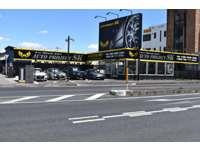 常磐自動車道「柏IC」よりお車で15分、高級車を中心にお待ちしております。