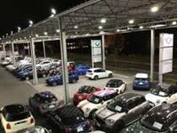 全長83Mに及ぶ関東最大級の認定中古車専用拠点です