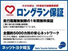 ネッツトヨタ埼玉 | 保証