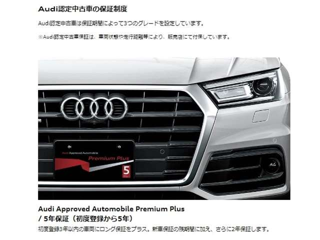 Audi Approved Automobile 足立  保証