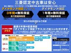 東日本三菱自動車販売   保証