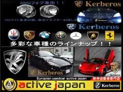 アクティブジャパン インポート カー ショップ/ケルベロス エアロ ショップ | 各種サービス
